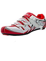cheap -BOODUN J060952 B8 Unisex Bike Shoes Nylon and Carbon Fiber Cycling / Bike Breathable Anti-Slip Ultra Light (UL) Breathable Mesh PU(Polyurethane) Black Red Green / Hook&loop