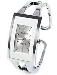 cheap -Women's Ladies Fashion Watch Unique Creative Watch Square Watch Quartz Silver Rhinestone Imitation Diamond Analog Casual Bangle - White One Year Battery Life / SSUO LR626