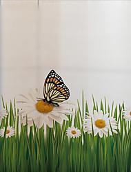 Недорогие -Животный принт 60 cm Стикер на окна Для гостиной ПВХ / винил