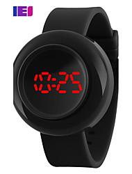 cheap -Women's Sport Watch Smartwatch Wrist Watch Digital Silicone Multi-Colored 50 m Chronograph Creative Cool Digital Charm Classic Fashion Dress Watch Unique Creative - Black Rose LightBlue / Large Dial