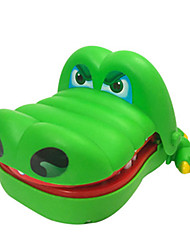cheap -Crocodile Dentist Stress Reliever Crocodile Shark Fun Music & Light Large Size Biting Hand Kid's Unisex Toy Gift