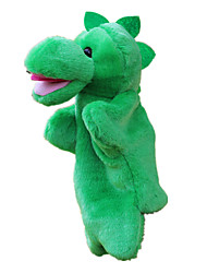 cheap -Puppets Hand Puppet Cute Lovely Large Size Dinosaur Plush Fabric Plush Kid's Toy Gift