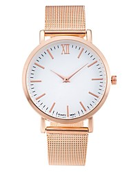 cheap -Women's Wrist Watch Gold Watch Analog Quartz Ladies Casual Watch Cool / One Year / Stainless Steel
