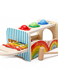 cheap -Hammering / Pounding Toy Building Blocks Baby & Toddler Toy Square Education Boys' Unisex Toy Gift