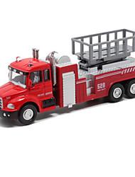 Недорогие -Пожарная машина Игрушечные грузовики и строительная техника Игрушечные машинки Модели автомобилей Детские Универсальные Мальчики Девочки Игрушки Подарок