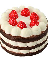 Недорогие -LT.Squishies Игрушечная еда Резиновые игрушки Наборы для моделирования Продукты питания Торты Десерт как живой Безопасно для детей Оригинальные пластик ПУ (полиуретан) Детские Взрослые