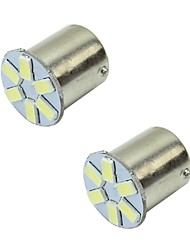cheap -1156 / 1157 Car Light Bulbs 2 W SMD 5630 240 lm Tail Lights For universal