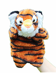 cheap -Finger Puppets Puppets Hand Puppet Cute Animals Lovely Rabbit Tiger Plush Fabric Plush Kid's Girls' Toy Gift