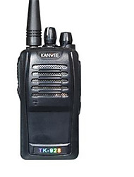 cheap -TK-928 Walkie Talkie Handheld Emergency Alarm / Power Saving Function / VOX 16 1300mAh 5W Walkie Talkie Two Way Radio