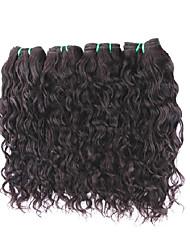 cheap -Human Hair Remy Weaves Natural Wave Brazilian Hair 400 g