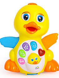 Недорогие -HUILE TOYS Обучающая игрушка Электрический Утка с Экран Детские Игрушки Подарок