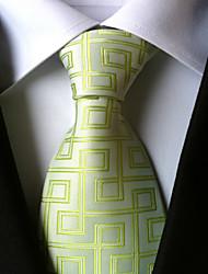 cheap -Men's Neckwear Necktie - Houndstooth
