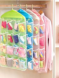 Недорогие -пластик Многофункциональный Главная организация, 1 комплект Корзины для хранения Вешалки Мешки для хранения