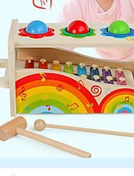 cheap -Xylophone Hammering / Pounding Toy Baby & Toddler Toy Building Bricks Fun Education Fun & Whimsical Building Toys Unisex Boys' Girls' Toy Gift / Kid's
