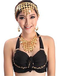 cheap -Belly Dance Headpieces Women's Performance Metal Sequin Headwear