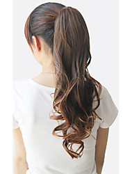 cheap -Ponytails Bear Claw / Jaw Clip Synthetic Hair Hair Piece Hair Extension Curly
