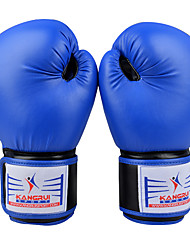 cheap -Boxing Bag Gloves Pro Boxing Gloves Boxing Training Gloves For Boxing Full Finger Gloves Lightweight Warm Padded Faux Leather Red Blue