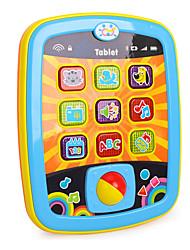 Недорогие -HUILE TOYS Аксессуары для кукольного домика Игрушка для обучения чтению Компьютер Для планшета Веселье Детские Дети