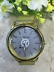 cheap -Men's Wrist Watch Quartz Gold 30 m Casual Watch Analog Casual Fashion Elegant - Blue Orange / Black Gold / Red