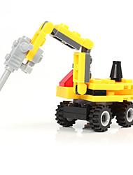 cheap -Building Blocks Block Minifigures Toys Tank Excavating Machinery Plastics Unisex Boys Pieces