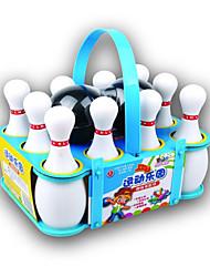 cheap -Balls Bowling Toy Racquet Sport Toy Portable Plastics Boys' Toy Gift