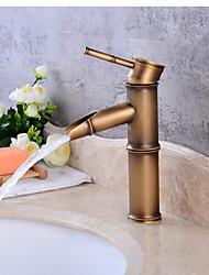cheap -Contemporary Centerset Ceramic Valve Single Handle One Hole Antique Copper, Bathroom Sink Faucet