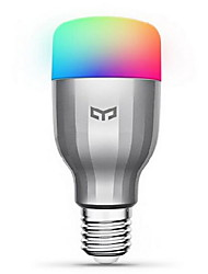 cheap -Xiaomi 1pc 9 W LED Smart Bulbs 600 lm E26 / E27 19 LED Beads SMD Works With Amazon Alexa Google Home Warm White Cold White RGB 220-240 V / 1 pc