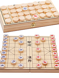 cheap -Board Game Chess Game Durable Natural Wood Chinese Style Boys' Girls' Toy Gift