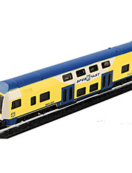 cheap -Toy Car Pull Back Vehicle Train Car Simulation Metal Alloy Iron for Unisex