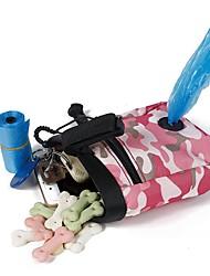Недорогие -Кошка Собака Миски и бутылки с водой Ткань Компактность Складной Прочный Контрастных цветов Зеленый Розовый Чаши и откорма