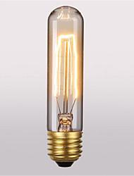 cheap -1pc 40 W E26 / E27 T10 Warm White 2300 k Retro / Decorative Incandescent Vintage Edison Light Bulb 220-240 V / 110-130 V