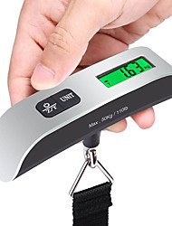 cheap -Travel Luggage Scale Portable Luggage Accessory Multi-function Stainless Steel Rubber 1pc Sea Green Travel Accessory