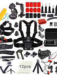 cheap -Accessory Kit For Gopro 67 in 1 Outdoor Multi-function 1039 Action Camera Gopro 6 All Gopro Gopro 5 Xiaomi Camera Gopro 4 Ski / Snowboard Leisure Sports Universal Canvas ABS / Gopro 4 Session / SJCAM