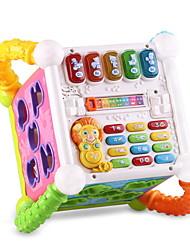 cheap -Building Blocks Dollhouse Accessory Baby Blocks Plastics Kid's Adults' Boys' Girls' Toy Gift / Educational Toy