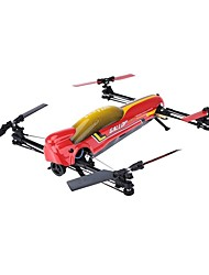 cheap -RC Drone WLtoys V383 6CH 6 Axis 2.4G RC Quadcopter One Key To Auto-Return / Auto-Takeoff / Headless Mode RC Quadcopter / Remote Controller / Transmmitter / Camera / Access Real-Time Footage / Hover
