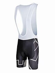 cheap -ILPALADINO Men's Cycling Bib Shorts Bike Bib Shorts Pants Bottoms Windproof Breathable 3D Pad Sports Lycra Black / White Road Bike Cycling Clothing Apparel Relaxed Fit Bike Wear / Quick Dry