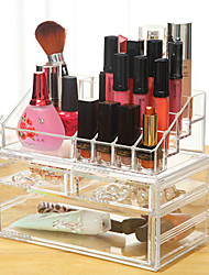 cheap -Makeup Tools Makeup Cosmetics Storage Makeup Quadrate Classic Daily Daily Makeup Cosmetic Grooming Supplies