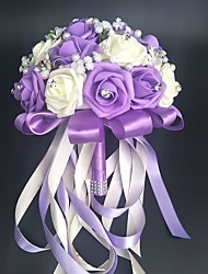 cheap -Wedding Flowers Bouquets / Others / Artificial Flower Wedding / Party / Evening Material / Lace 0-20cm