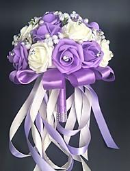 abordables -Fleurs de mariage Bouquets / Autres / Fleur Artificielle Mariage / Fête / Soirée Matière / Dentelle 0-20cm