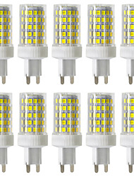 cheap -10pcs 10 W LED Bi-pin Lights 900-1000 lm G9 T 86 LED Beads SMD 2835 Dimmable Warm White Cold White Natural White 220-240 V / 10 pcs