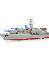 cheap -Model Building Kit Warship Aircraft Carrier Ship Aircraft Carrier Simulation Mini Car Vehicles Toys for Party Favor or Kids Birthday Gift / Kid's