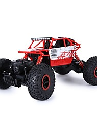 cheap -RC Car HUANGBOTOYS HB-P1801 2ch 2.4G Buggy (Off-road) / Car / Rock Climbing Car 1:18 Brush Electric 10 km/h Remote Control / RC / Rechargeable / Electric