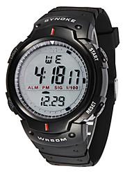 Недорогие -Муж. Модные часы электронные часы Цифровой Черный Цифровой Черный Черный / серый