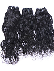 cheap -high quality brazilian hair bundles natural wave natural color 3 bundles human hair weave 300g