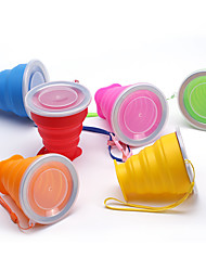 cheap -Travel Mug / Cup / Water Bottle Foldable / Travel Drink & Eat Ware Silica Gel 9*8/4.5 cm