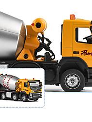 cheap -1:50 Construction Truck Set Cargo Truck Concrete Mixer Toy Truck Construction Vehicle Toy Car Model Car Kid's Car Toys