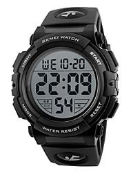 cheap -Men's Sport Watch Smartwatch Wrist Watch Digital Silicone Multi-Colored 50 m Water Resistant / Waterproof Calendar / date / day Chronograph Digital Charm Fashion Elegant Dress Watch Unique Creative -