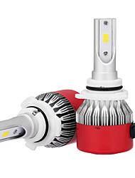 cheap -9006 36W/2pcs LED Headlight Kit Bulbs CSP Chip 3600LM 6500K LED Car Headlight Bulbs Conversion Kit 9v-32v Replace for Halogen or HID Bulbs