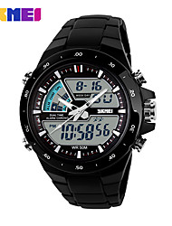 cheap -Men's Sport Watch Smartwatch Wrist Watch Digital Quilted PU Leather Multi-Colored 30 m Water Resistant / Waterproof Calendar / date / day Chronograph Analog - Digital Charm Classic Fashion Elegant