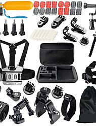 cheap -Kit General Accessories Outdoor Multi-function Shockproof 1 pcs For Action Camera Gopro 6 All Gopro SJCAM SJ4000 ThiEYE i60 Ski / Snowboard Universal Everyday Use Velcro Nylon PVA ABS / MEEE GOU MINI